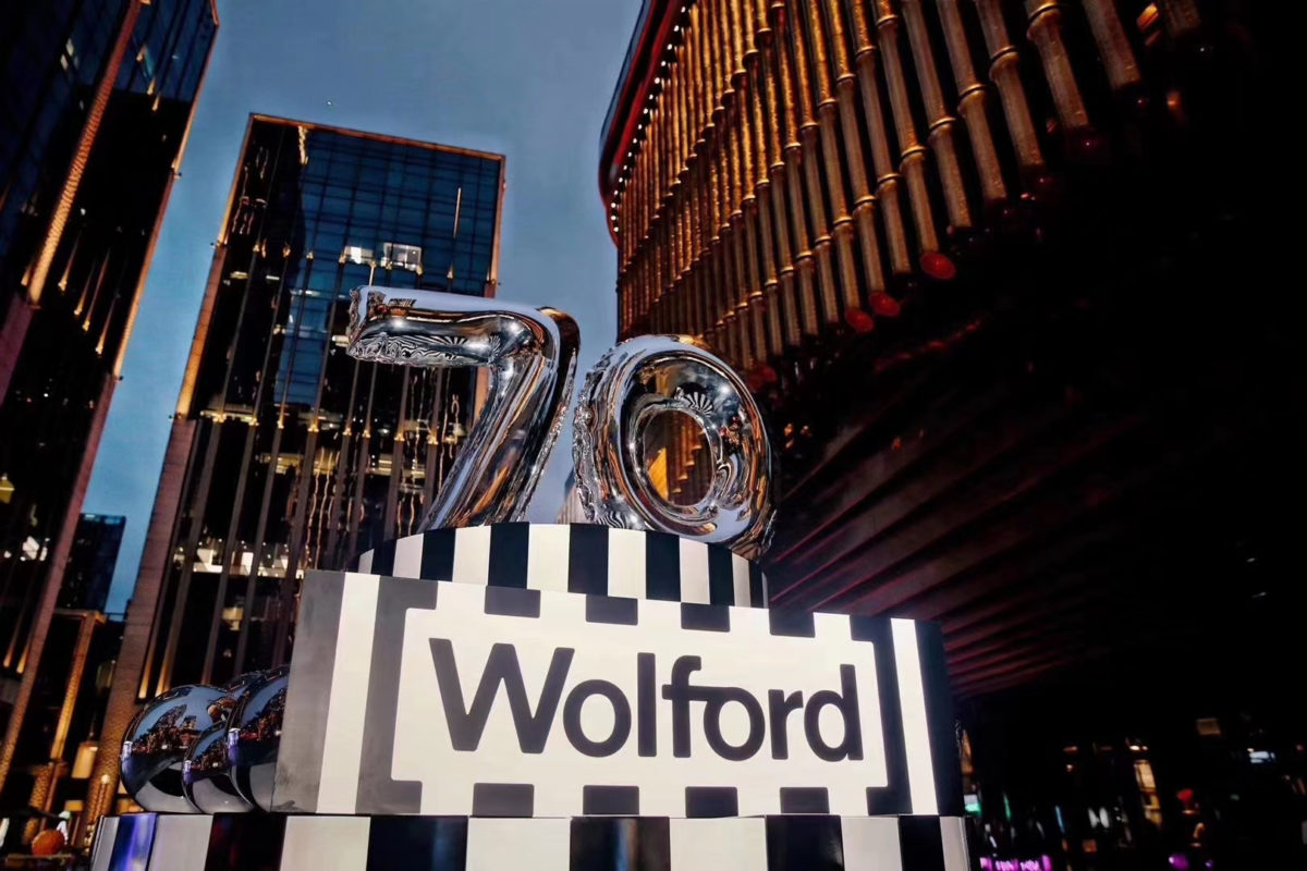 Wolford celebrates their 70th anniversary